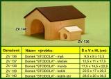 Domek pro hlodavce, stodola