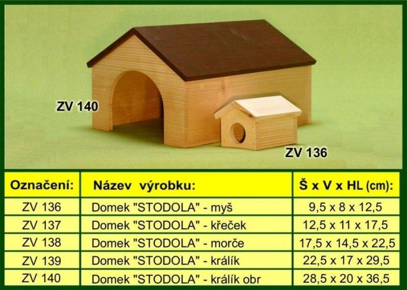 Domek pro morče, stodola drevo-vyrobky.cz