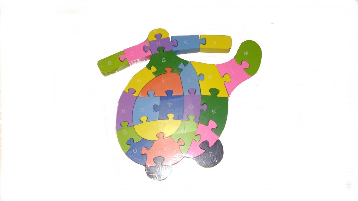 puzzle vrtulník