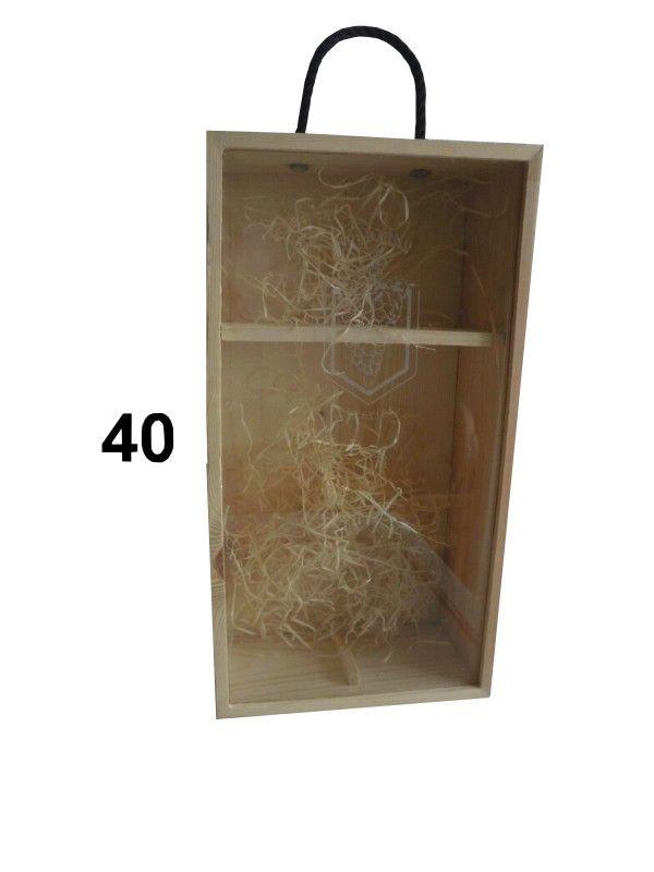 krabice na víno duo,posuvné sklo
