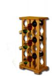 Stojan na víno, 17ks, skříň