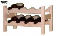 Stojan na víno 2x4, regál