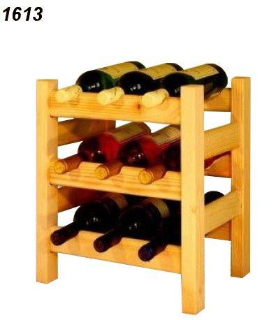 stojan na víno 3x2 regál
