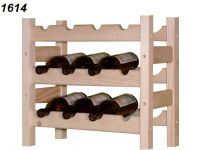Stojan na víno, 3x4, regál