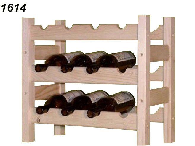 stojan na víno 3x4 regál