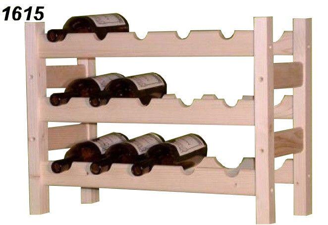 stojan na víno 3x5 regál