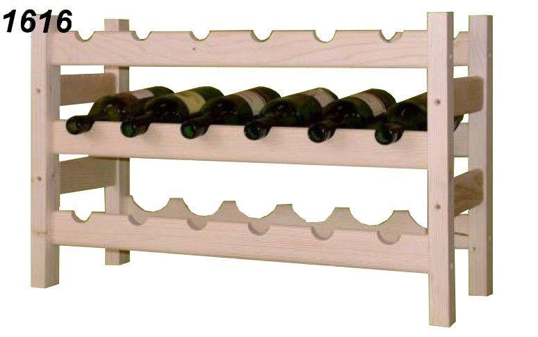 stojan na víno 3x6 regál