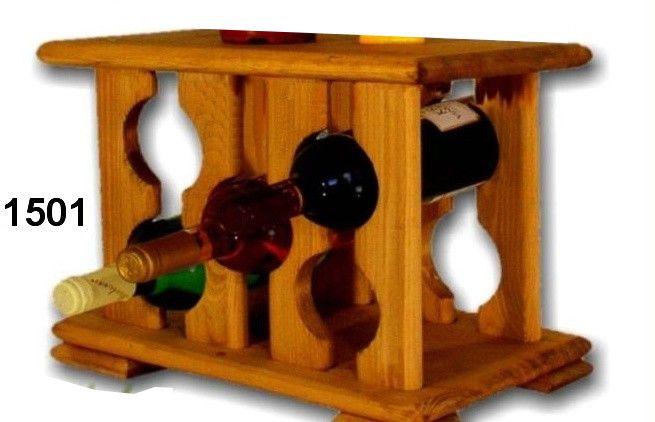 stojan na víno 5ks skříň
