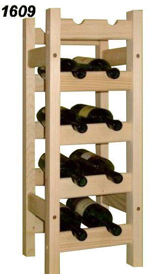 stojan na víno 5x2 regál
