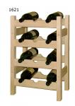 Stojan na víno 4x3, regál