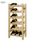 Stojan na víno 6x3, regál