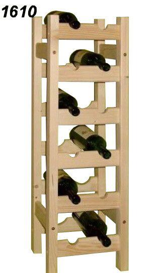 stojan na víno 6x2 regál