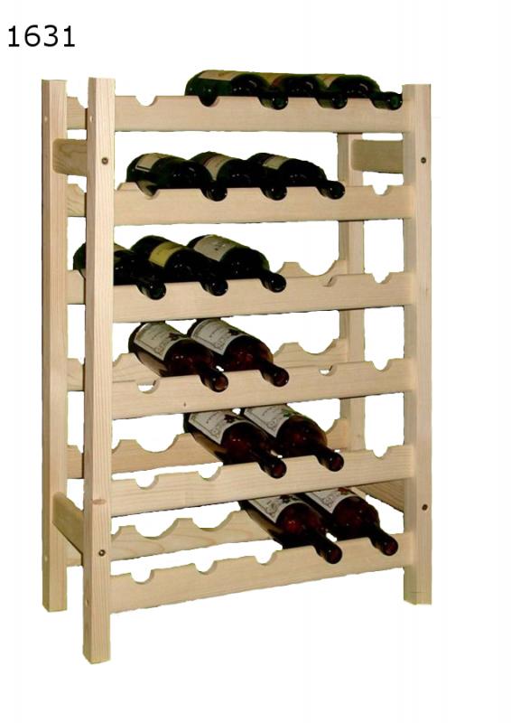 stojan na víno 6x5 regál