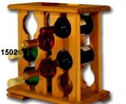 Stojan na víno, 8ks, skříň