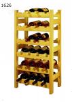 Stojan na víno 6x4, regál