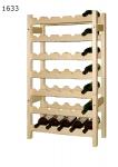 Stojan na víno 7x5, regál