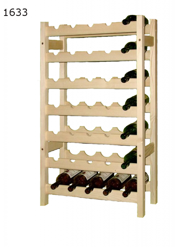 stojan na víno 7x5 regál