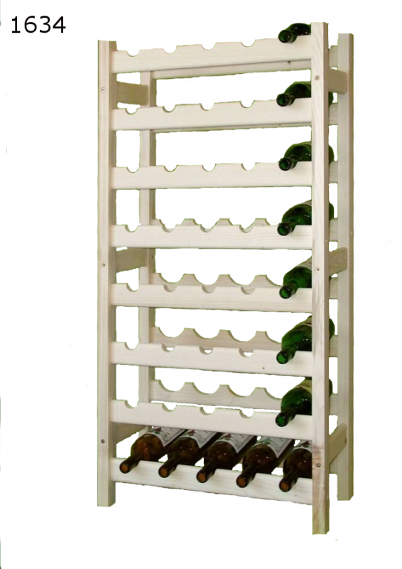 stojan na víno 8x5 regál